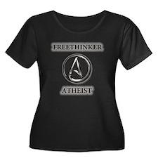 Freethinker Atheist Logo Plus Size T-Shirt