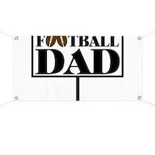 Football Dad Goal Post Banner