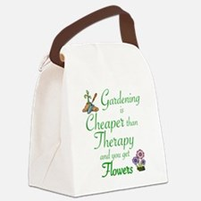 Unique Therapy Canvas Lunch Bag