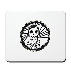 Skull Wheel - Abstract Mousepad