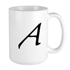 Atheist letter A Mugs