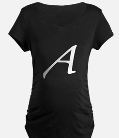 Atheist Letter A Maternity T-Shirt