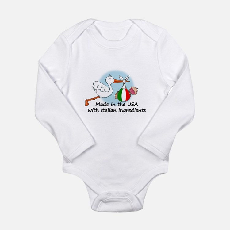 Stork Baby Italy USA Body Suit