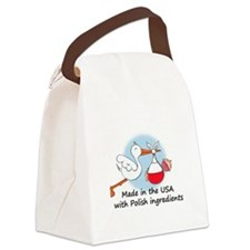stork baby pl 2.psd Canvas Lunch Bag