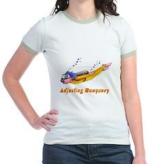Adjusting Buoyancy Jr. Ringer T-Shirt
