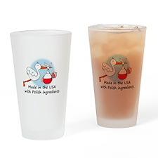 stork baby pl 2.psd Drinking Glass