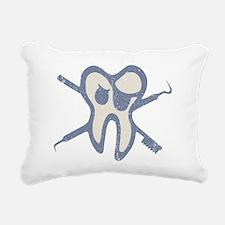 Jolly Molarr Rectangular Canvas Pillow