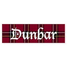 Tartan - Dunbar dist. Bumper Sticker