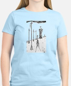 "Women's ""Infrastructure of an UncertainFuture"" T's"