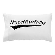 Freethinker (black) Pillow Case