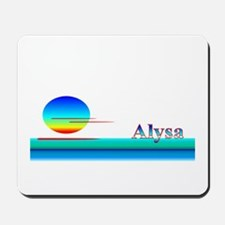 Alysa Mousepad