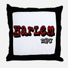 """""""CLICK HERE for Harlem NYC lo Throw Pillow"""