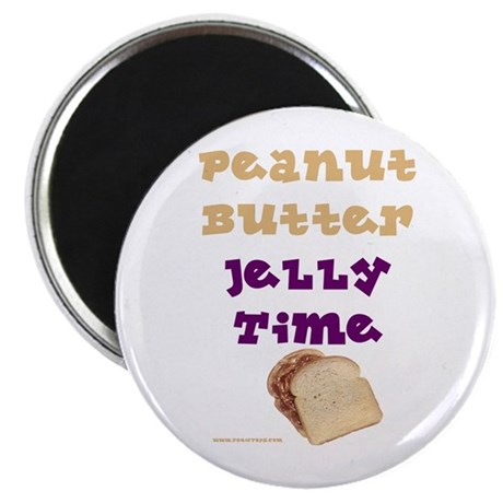 Peanut Butter Jelly Time Magnet