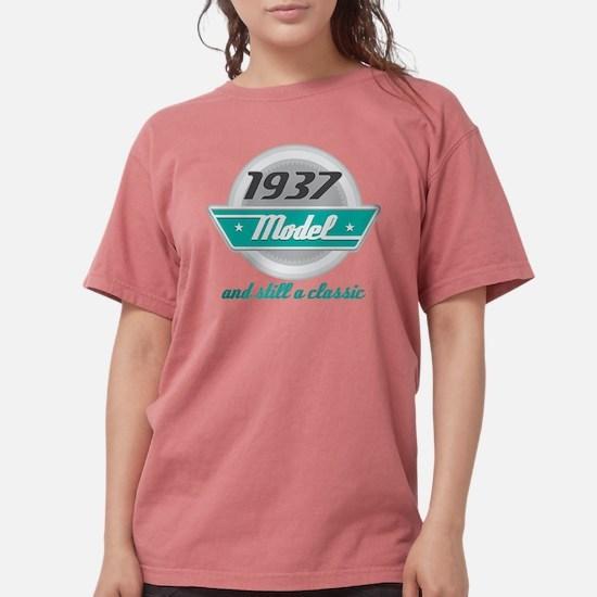 1937 Birthday Vintage Chrome T-Shirt