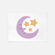 Night Moon 5'x7'Area Rug