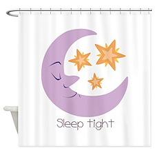 Sleep Tight Shower Curtain
