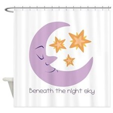 The Night Sky Shower Curtain