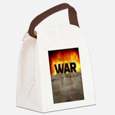 It's War Canvas Lunch Bag