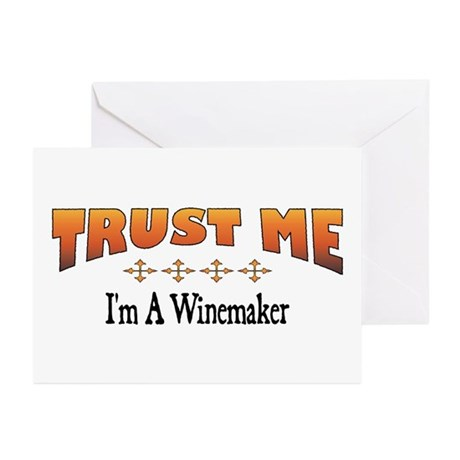 Trust Winemaker Greeting Cards (Pk of 10)