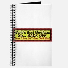 Best Mortician Journal