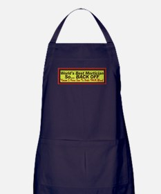 Best Mortician Apron (dark)