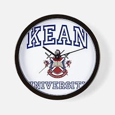 KEAN University Wall Clock