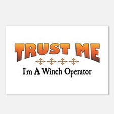 Trust Winch Operator Postcards (Package of 8)