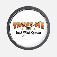 Trust Winch Operator Wall Clock