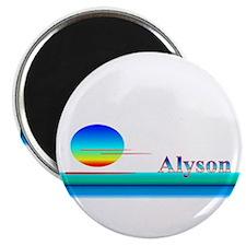 "Alyson 2.25"" Magnet (10 pack)"