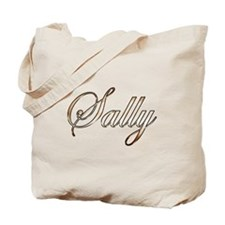 Gold Sally Tote Bag