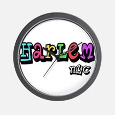 """CLICK HERE for HARLEM COLORS Wall Clock"