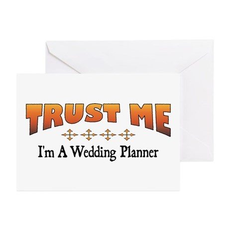 Trust Wedding Planner Greeting Cards (Pk of 10