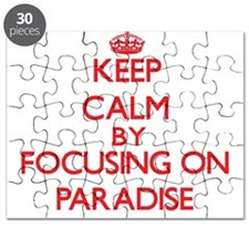 Keep Calm by focusing on Paradise Puzzle