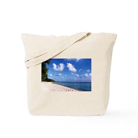 Seven Mile Beach Grand Cayman Tote Bag