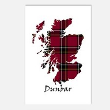 Map - Dunbar dist. Postcards (Package of 8)