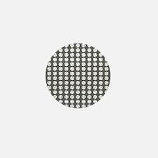 Sports: Baseball Ball Pattern Mini Button