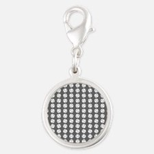 Sports: Baseball Ball Pattern Charms