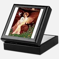 Seated Angel & Bolognese Keepsake Box