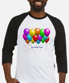 Get Well Balloons Baseball Jersey