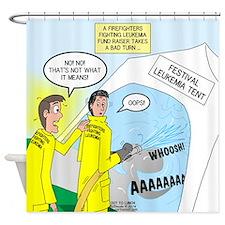 Firefighter Fund Raiser Shower Curtain