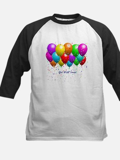 Get Well Balloons Baseball Jersey