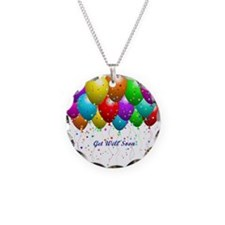 Get Well Balloons Necklace