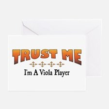 Trust Viola Player Greeting Cards (Pk of 10)