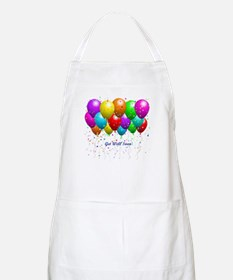 Get Well Balloons Apron