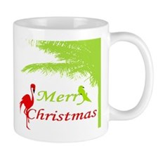 Tropical Christmas Mugs