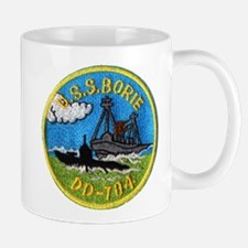 USS BORIE Mug