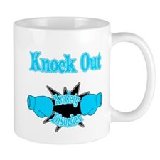 Knock Out Anxiety Disorder teal.png Mugs
