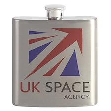 UK Space Agency Flask