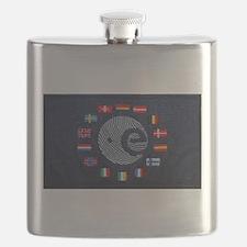 European Space Agency Flask