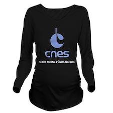 CNES Long Sleeve Maternity T-Shirt